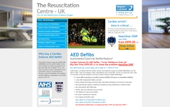 SEO - Search Engine Optimisation for the Resuscitation Centre